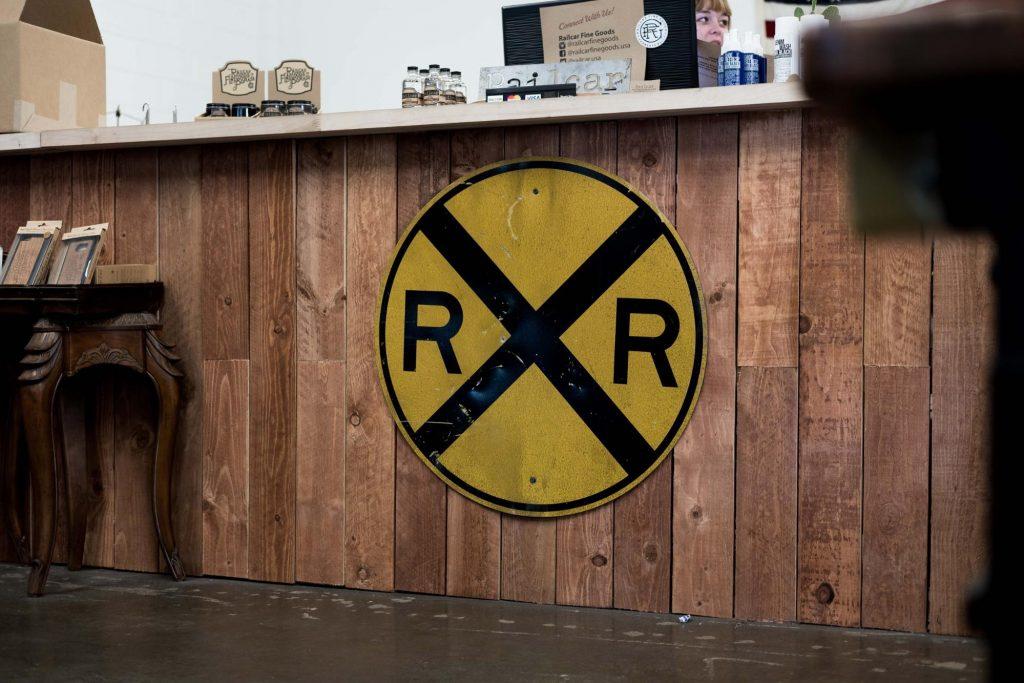 Railcar Fine Goods Retail Store Front