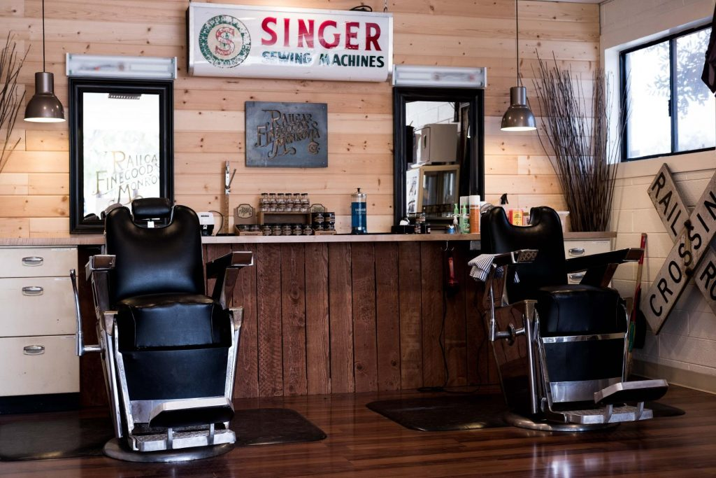 Railcar Fine Goods Barbershop