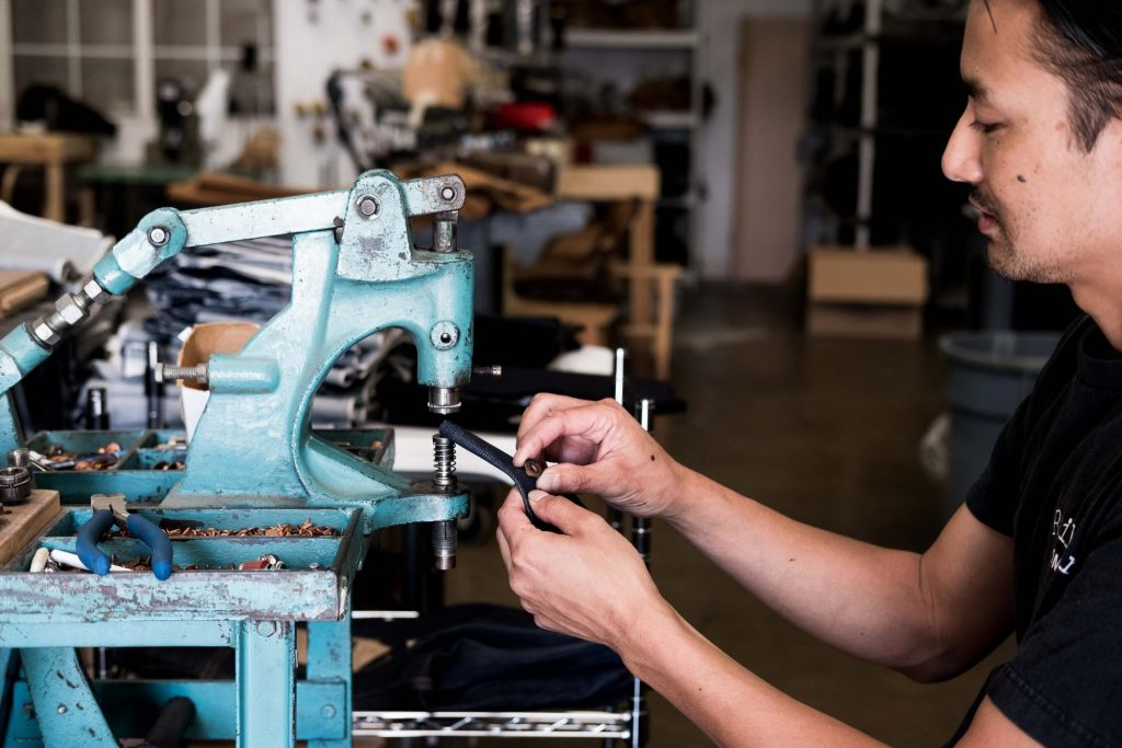 Railcar Fine Goods Steve Dang Assembling Denim