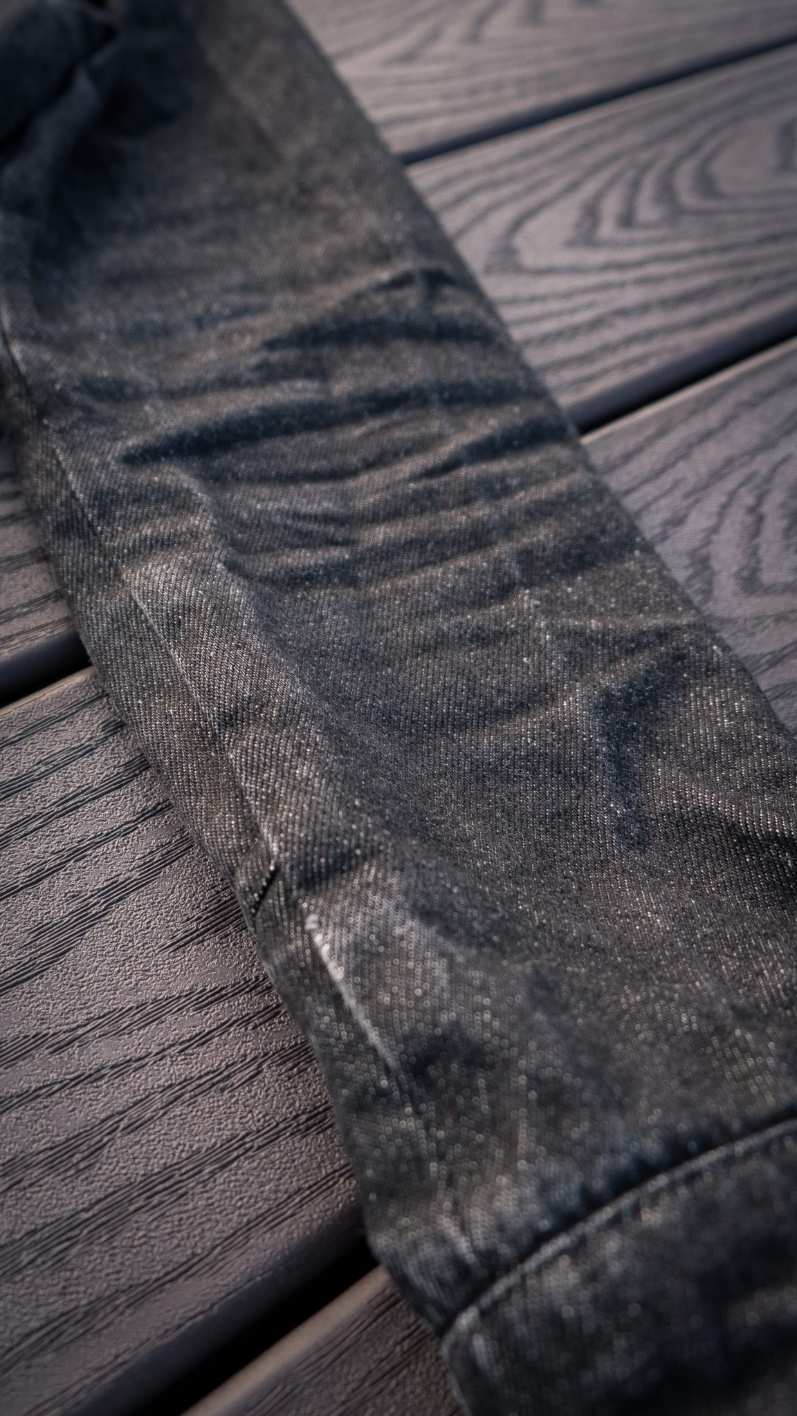 Dehen 1920 Black Denim Crissman Overshirt