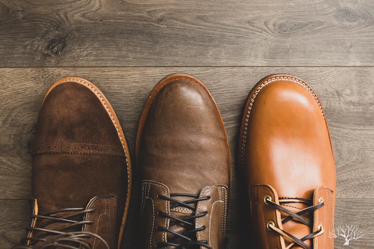 Viberg 2020 vs 2030 vs 1035 Last Service Boots